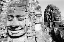 Heads The Bayon von Danita Delimont