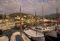 Port de Soller Harbor at sunset von Danita Delimont