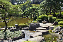 The Japanese Garden at the New Otani Hotel in Tokyo von Danita Delimont