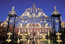 Gilded gate outside of Kensington Palace by Danita Delimont
