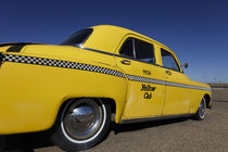 Old Yello Cab taxi on Route 66 by Danita Delimont