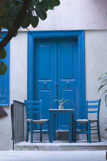 Blue Door by Danita Delimont