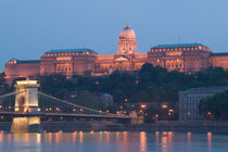 National Gallery & Danube River / Evening by Danita Delimont
