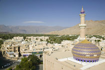 Nizwa Mosque View from Nizwa Fort by Danita Delimont