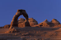 Delicate arch and La Sal Mountains von Danita Delimont