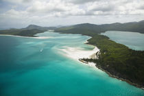 Aerial View of Whitehaven Beach by Danita Delimont