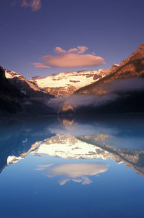 Lake Louise morning by Danita Delimont