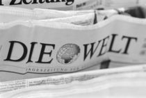 Die Welt The World newspaper von Danita Delimont