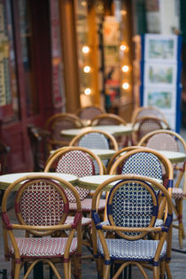 Cafe Tables by Danita Delimont