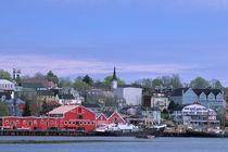 A fishing town on the Atlantic coast von Danita Delimont