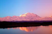 McKinley at Sunrise with Reflections by Danita Delimont
