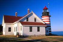 West Quoddy lighthouse near Lubec von Danita Delimont