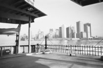 NEW YORK: New York City Lower Manhattan from the Staten Island Ferry by Danita Delimont