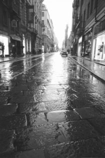 Wet Street Evening von Danita Delimont