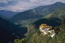 Looking north toward Tashi Yangtse and Tibet by Danita Delimont