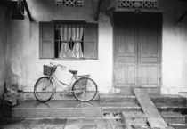 House with Bicycle von Danita Delimont