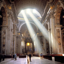 Peter's Basilica at Vatican City von Danita Delimont