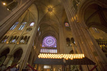 Interior of Notre Dame Cathedral by Danita Delimont