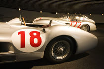 1950s Mercedes SLR racing car von Danita Delimont