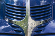 Radiator Grille of a 1938 Dodge Pickup Truck by Danita Delimont