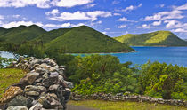 Virgin Islands with a view of Leinster Bay by Danita Delimont