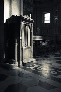 Confessional booth von Danita Delimont
