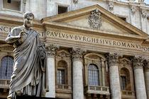 Peter's Basilica (aka Basilica di San Pietro) von Danita Delimont