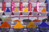 Colorful spices in market von Danita Delimont