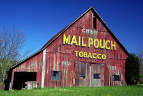 Mail Pouch Barn Mural by Danita Delimont