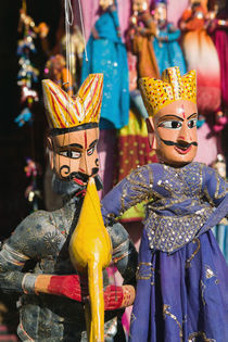 Indian Puppets by Danita Delimont