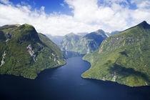 New Zealand - aerial von Danita Delimont