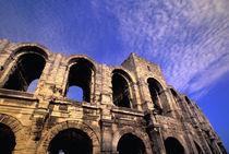 Roman amphitheatre (Arenes) built 1st century by Danita Delimont