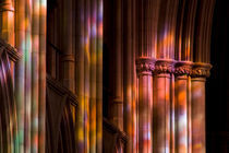 Colorful stone columns by Danita Delimont