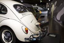 Volkswagen Beetle at Zeithaus auto museum by Danita Delimont