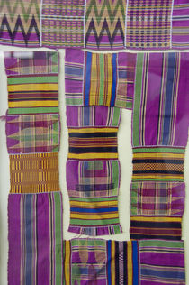 Colorful traditional West African textiles von Danita Delimont