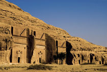 Tombs of Nabatean town von Danita Delimont