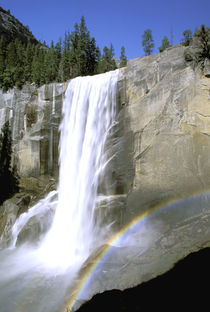 Vernal Falls and rainbow von Danita Delimont