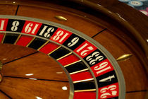 Princess Cruises Dawn Princess casino - roulette wheel von Danita Delimont