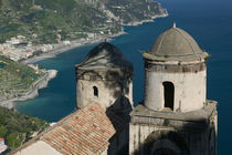 Ravello: View of the Amalfi Coastline from Villa Rufolo by Danita Delimont