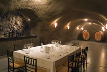 Dining room in Archery Summit Winery von Danita Delimont