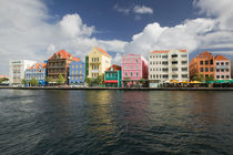 Willemstad: Harborfront Buildings of Punda by Danita Delimont