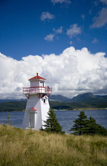 Woody Point Lighthouse by Danita Delimont