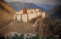 Potala wall painting von Danita Delimont