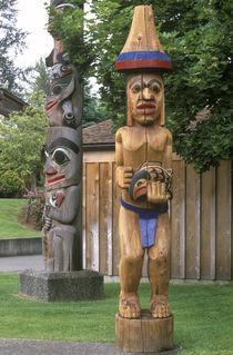 Totem Poles by Danita Delimont