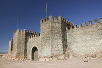 OUARZAZATE: Moroccan Hollywood: Film set castle from Kindgon of Heaven Exterior by Danita Delimont