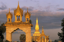 That Luang Temple by Danita Delimont