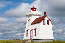 Lighthouse North Rustico Harbour by Danita Delimont