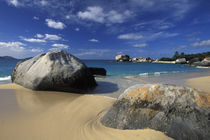 Beach on Spring Bay; British Virgin Islands von Danita Delimont
