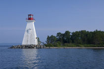 Baddeck lighthouse von Danita Delimont