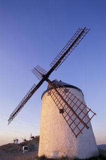 Castile-La Mancha Windmills by Danita Delimont